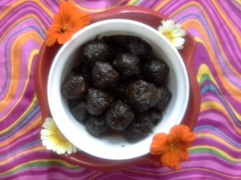 Gooseberry (amla) pickle.