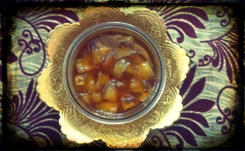Sweet Tangy Mango Pickle