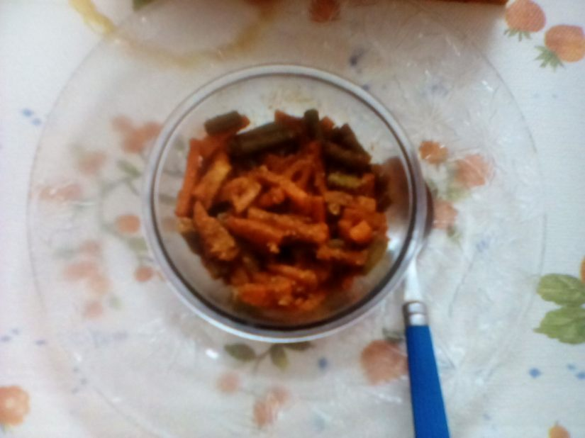 Mixed Vegetable Pickle.