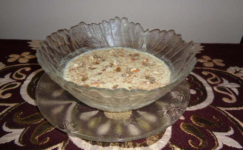 Lotus Seed Pudding(MakhanaKheer)