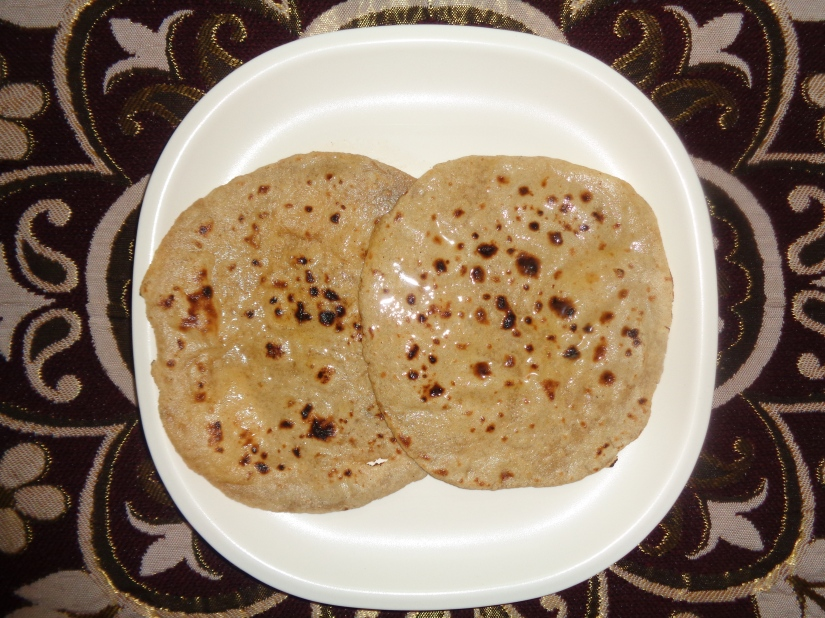 Two-in-one Chapati.