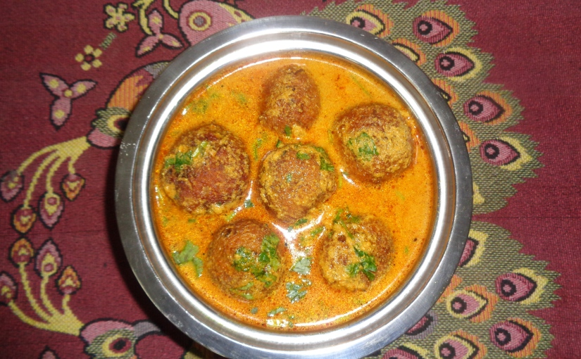 Raw Papaya Kofta