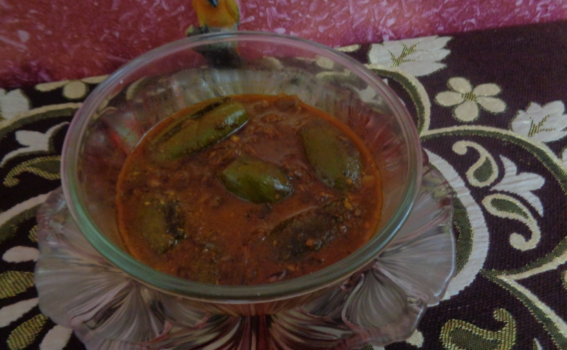 Coconut And Pointed GourdCurry