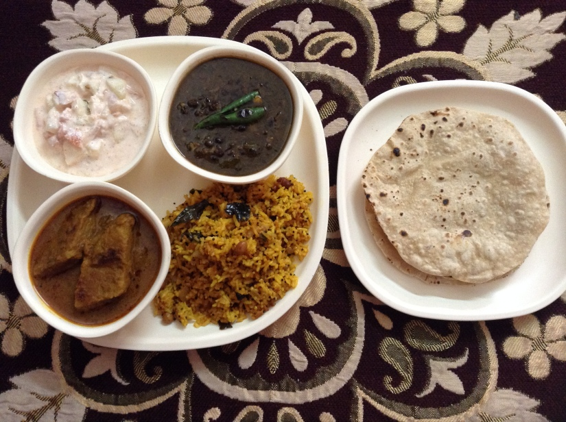 Delicious Indian Platter