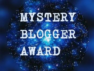 Mystery Blogger Award.