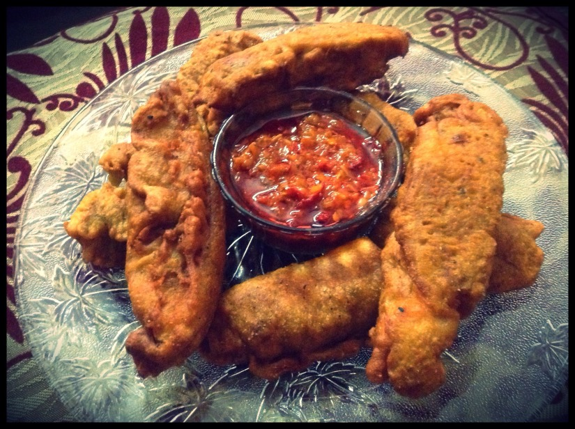 Fish Fritters.