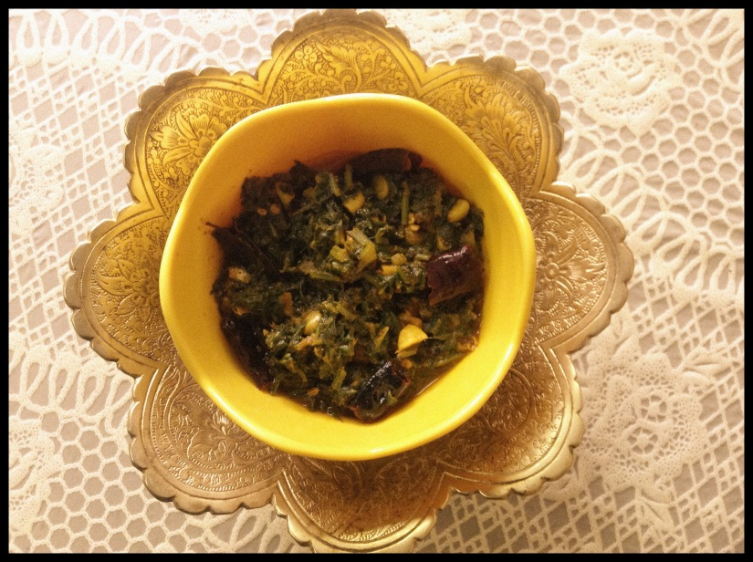 Spinach Pickle