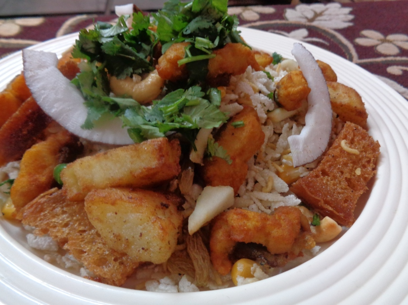 Spicy Fish Bhel