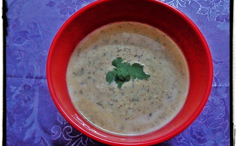 Spicy Green Raita