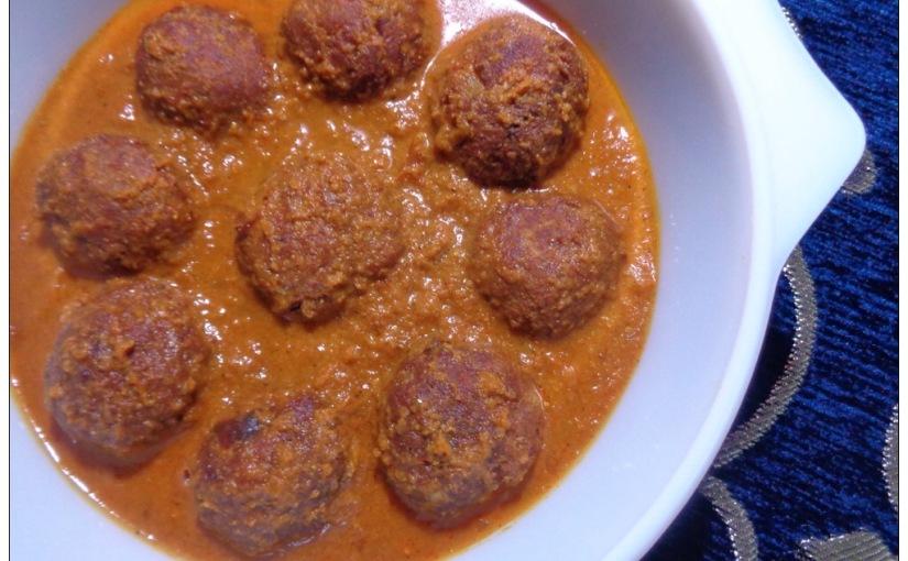 Fish Kofta Curry