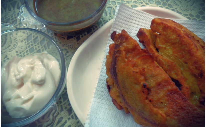 Bread And Fish Pakoras