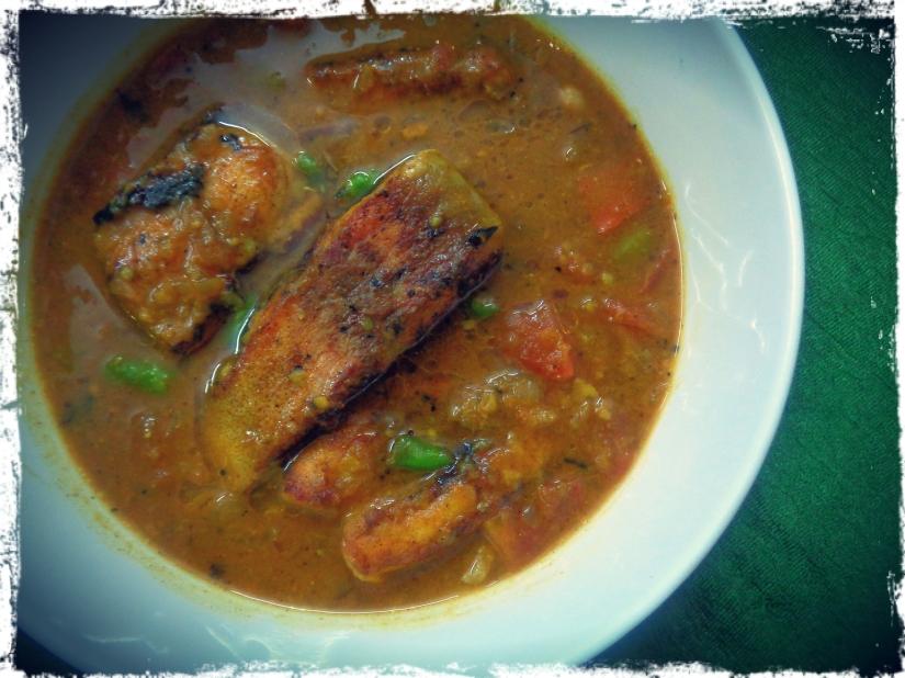 Fish Sambhar