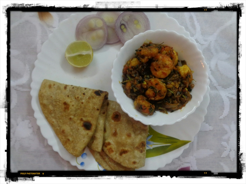 Prawns With Fenugreek