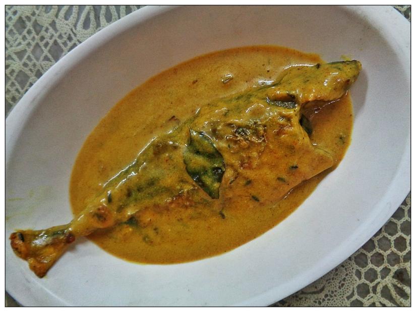 Fish Kadhi