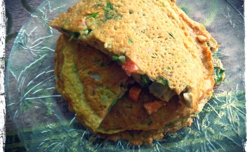 Gram Flour And VegetableOmlette