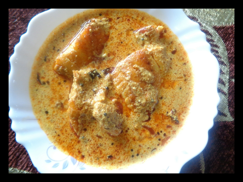 Fish Curry WithButtermilk