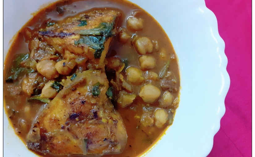 Chickpea, Fish And Fenugreek Curry