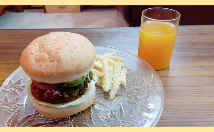 Spinach, Red Lentil And Mixed VegetableBurgers