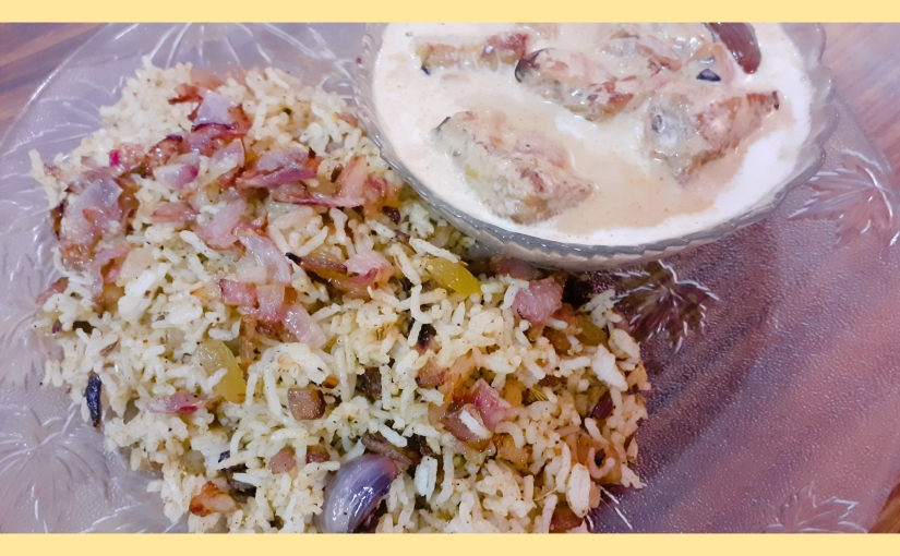 Sesame Peanut Rice With Creamy Brinjal
