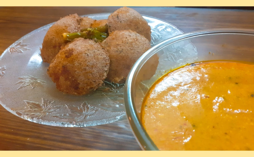 Fried Oats Idli With Sweet And Tangy Kadhi