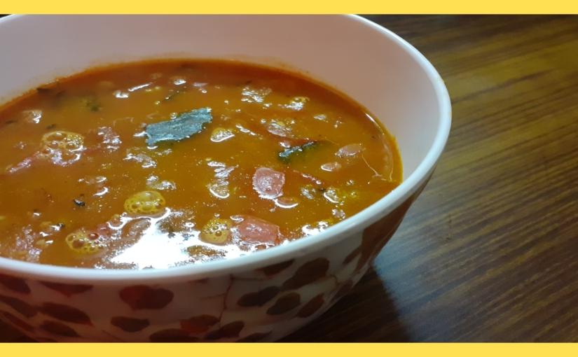 Lentil and tomatoshorba